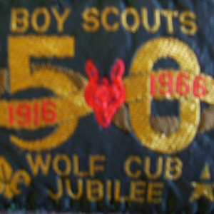 1966 Scout Badge