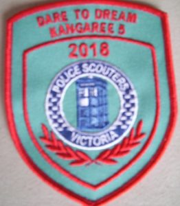 Kangaree 2018 Police Scouters Badge