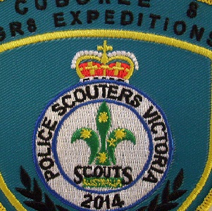 Police Scouter 2014 Badge