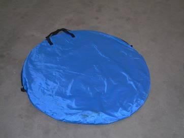 Pop Up Tent flat in bag