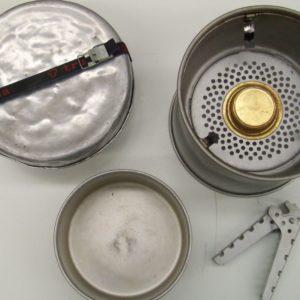Hiking Trangia cooking gear