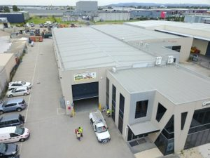 Scout Q Store aerial view Dandenong South