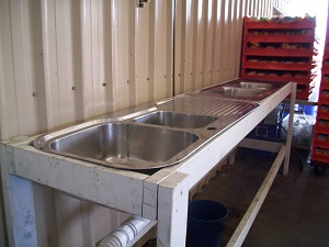 Portable Sink Unit for hire